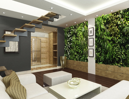 designer green wall vancouver inside living wall or vertical garden interior design